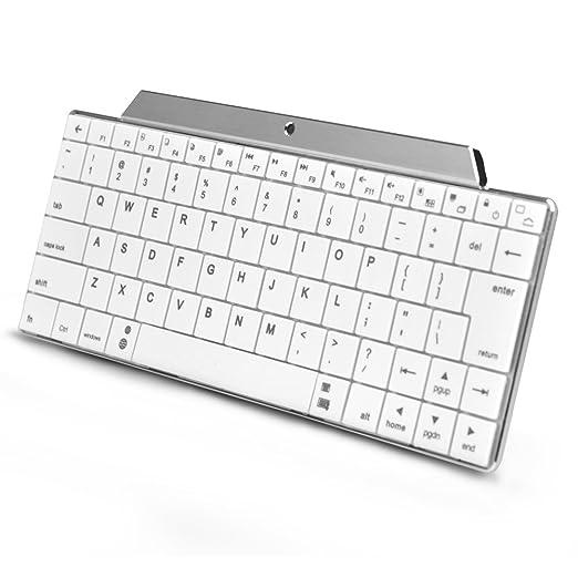BESTEK® Teclado inalámbrico Bluetooth para Windows, Android Mac (aluminio): Amazon.es: Bricolaje y herramientas
