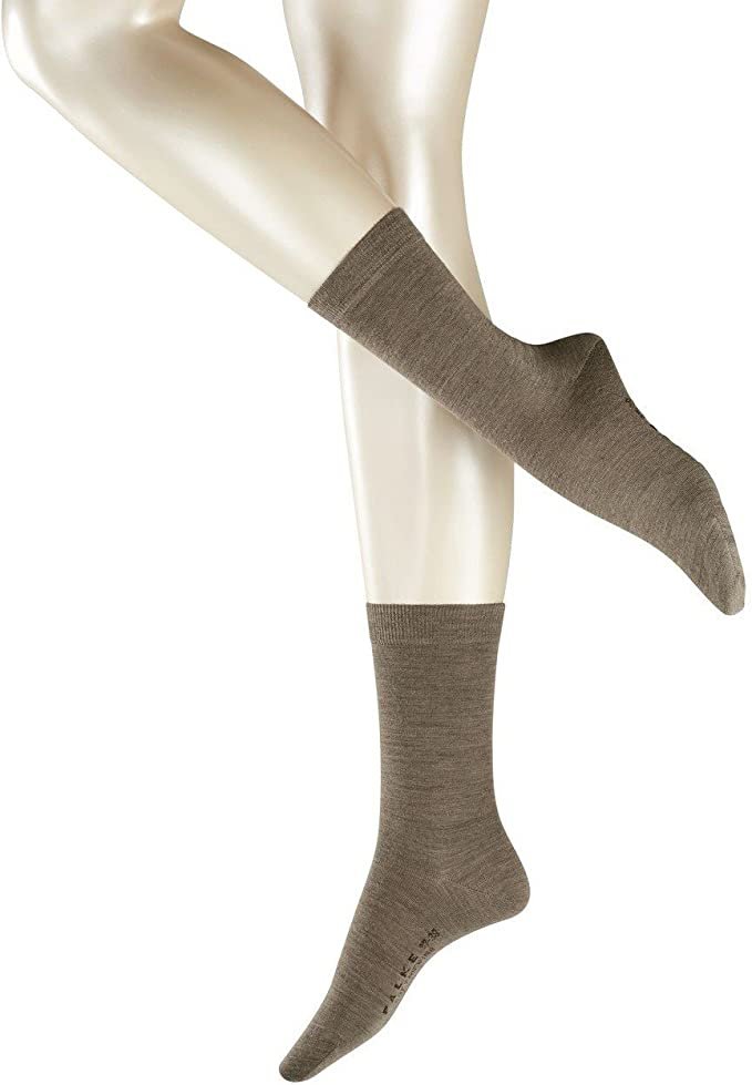 Sizes: 1 to 16 Years /Ι UK 3-8 /Ι EU 19-42 Warm thermo-regulated Merino Wool//Cotton Blend 1 Pair breathable FALKE Unisex Kids Comfort Wool Socks Multiple Colours