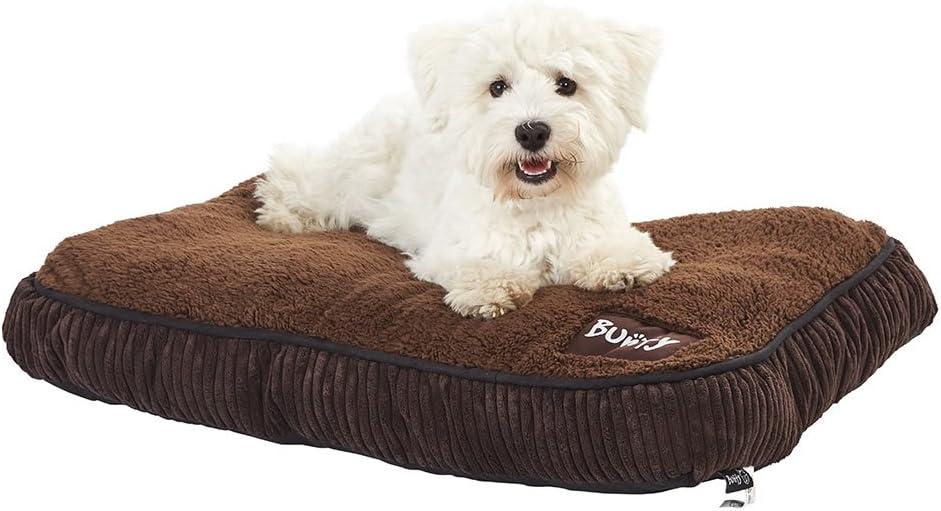Bunty Snooze - Cama para Perro (Forro Polar, tamaño Mediano)