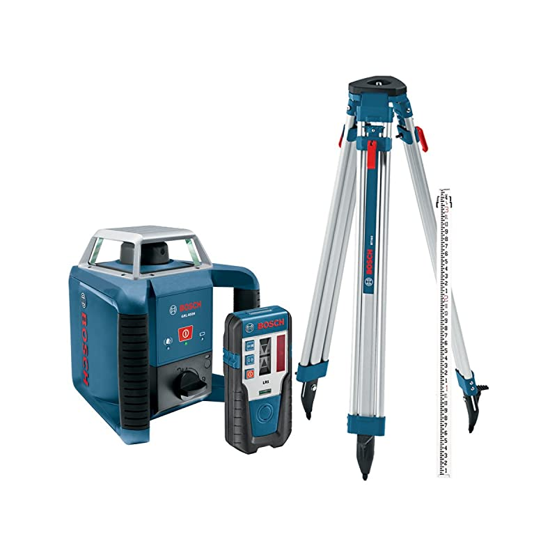 Bosch GRL400HCK: Easy to Customize Rotary Laser Level