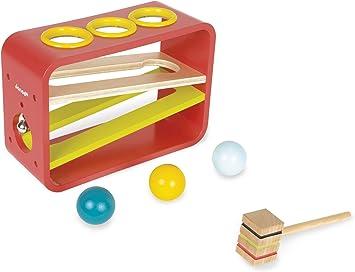 Janod - Frappa Ball, Juego de Bolas (J05371): Amazon.es: Juguetes y juegos