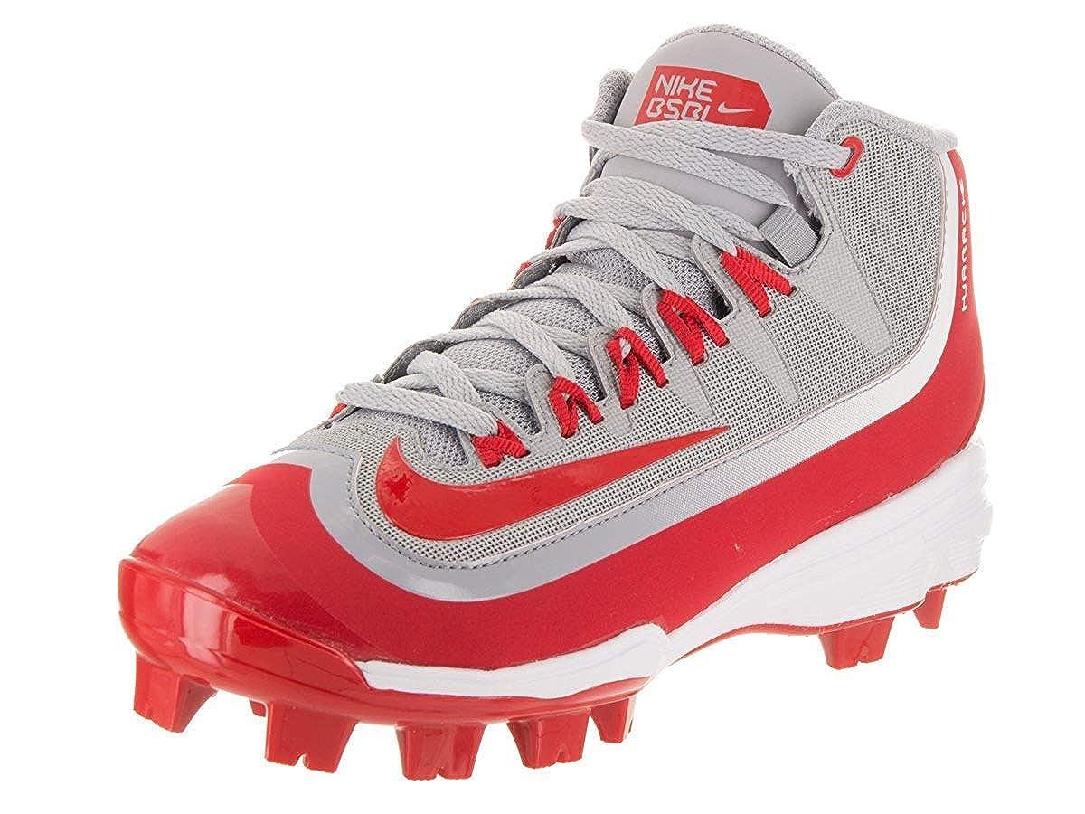 b1d019348173 Nike Kids Huarache 2K Filth Pro Mid Baseball Little Kid Big Kid Wolf Grey  White University Red Kids Shoes  Amazon.in  Shoes   Handbags
