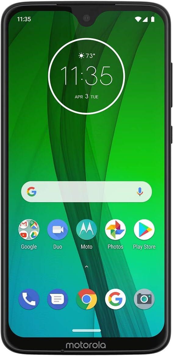 "Motorola Moto G7 Power XT1955-2 (32GB, 3GB RAM) Dual SIM 6.2"" 4G LTE (GSM Only) Factory Unlocked Black"