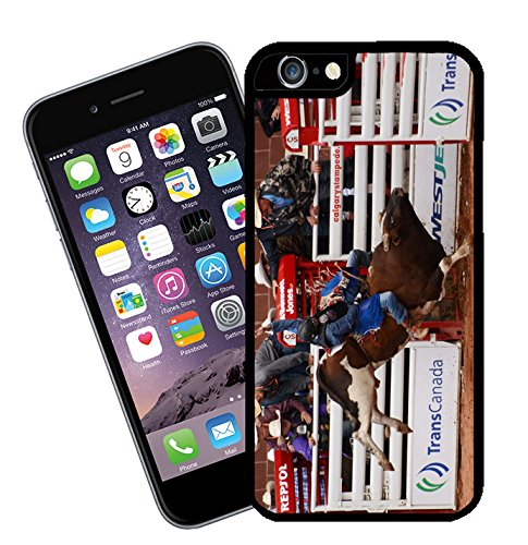 Bull Riding at Calgary Stampede in Canada 04 iPhone case - This cover will fit Apple model iPhone 7 (not 7 plus) - By Eclipse Gift Ideas