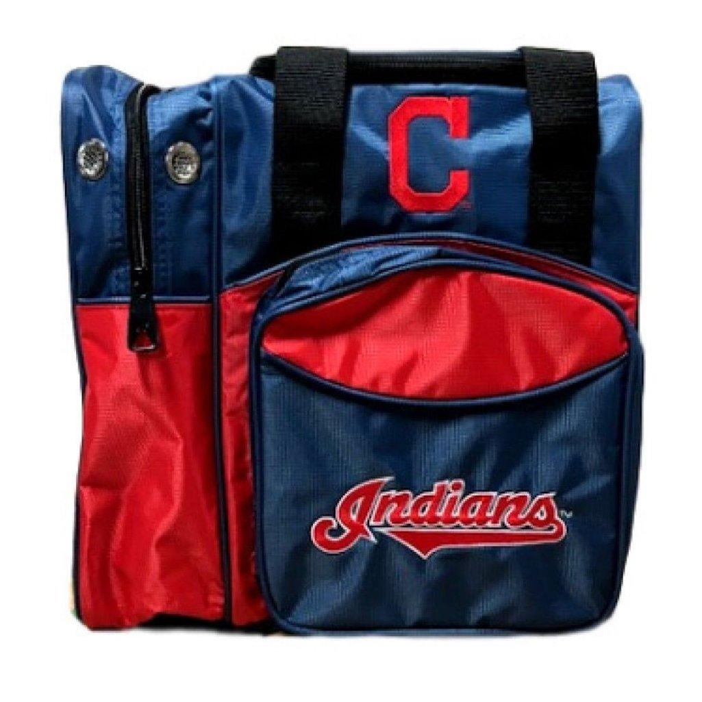 珍しい Cleveland Indians Cleveland Indians B07DF22HGM MLB公式ライセンス商品ボーリングバッグ B07DF22HGM, 銀雅堂:feed9d79 --- 4x4.lt