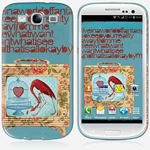 Galaxy S3 case - Skinkin - Original Design : Fantasy by Anne-Sophie Annese