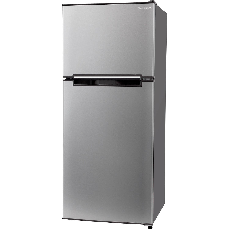 エスキュービズム 2ドア冷蔵庫 WR-2118SL シルバー 118L WR-2118SL B01N4NC4XY