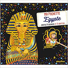 carte bac es 2020 Ma pochette Egypte   Cartes à gratter et à colorier (P.BAC ATEL