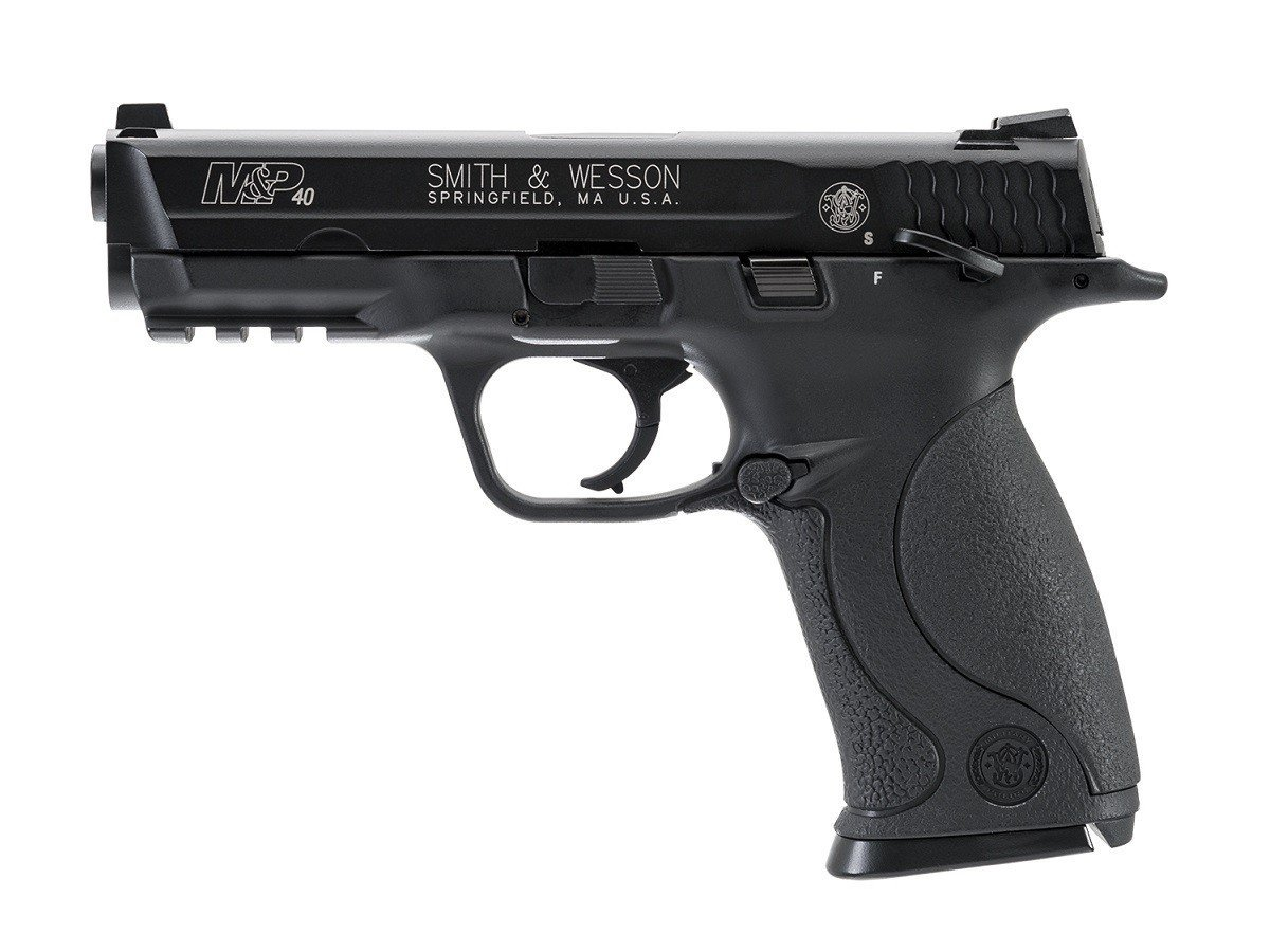Smith & Wesson M&P 40 BLOWBACK .177 Caliber Steel BB Air Gun Pistol