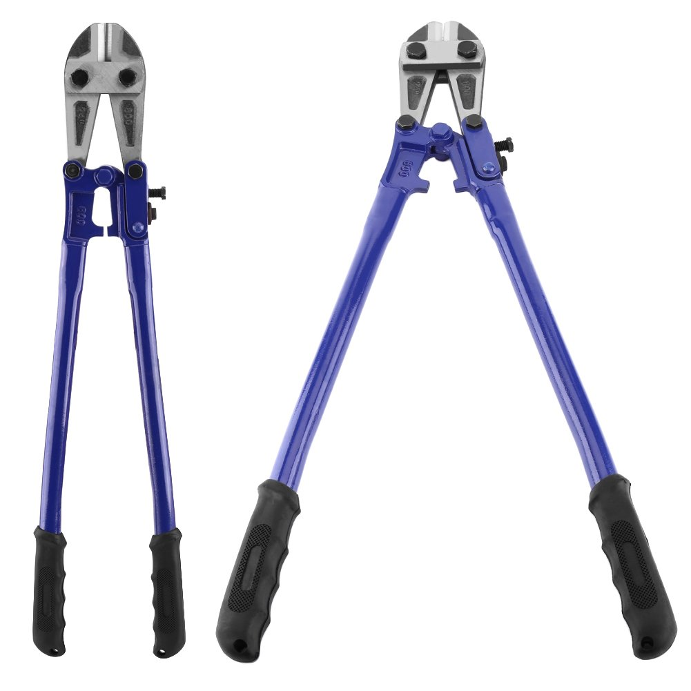 Heavy Duty Bolt Cutter, High Carbon Steel T8 Steel 24'' Chrome Alloy Jaws Chain Lock Wire Cutter Cutting Tool