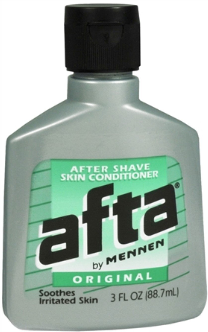 Afta After Shave Skin Conditioner Original 3 oz (Pack of 2) Mennen PPAX1139075