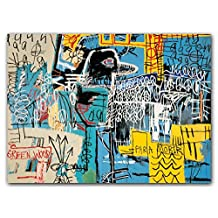 Jean-Michel Basquiat FlipTop Notecards with Magnetic Closure, greeting cards for all occasions