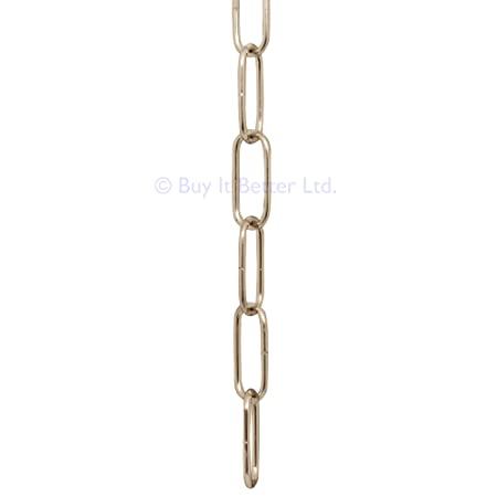 2m chrome open link chain for chandelier lighting medium 2m chrome open link chain for chandelier lighting medium 38x15mm ch aloadofball Choice Image