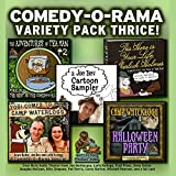 img - for Comedy-o-Rama Variety Pack Thrice: Library Edition (Adventures of Tea Man) book / textbook / text book