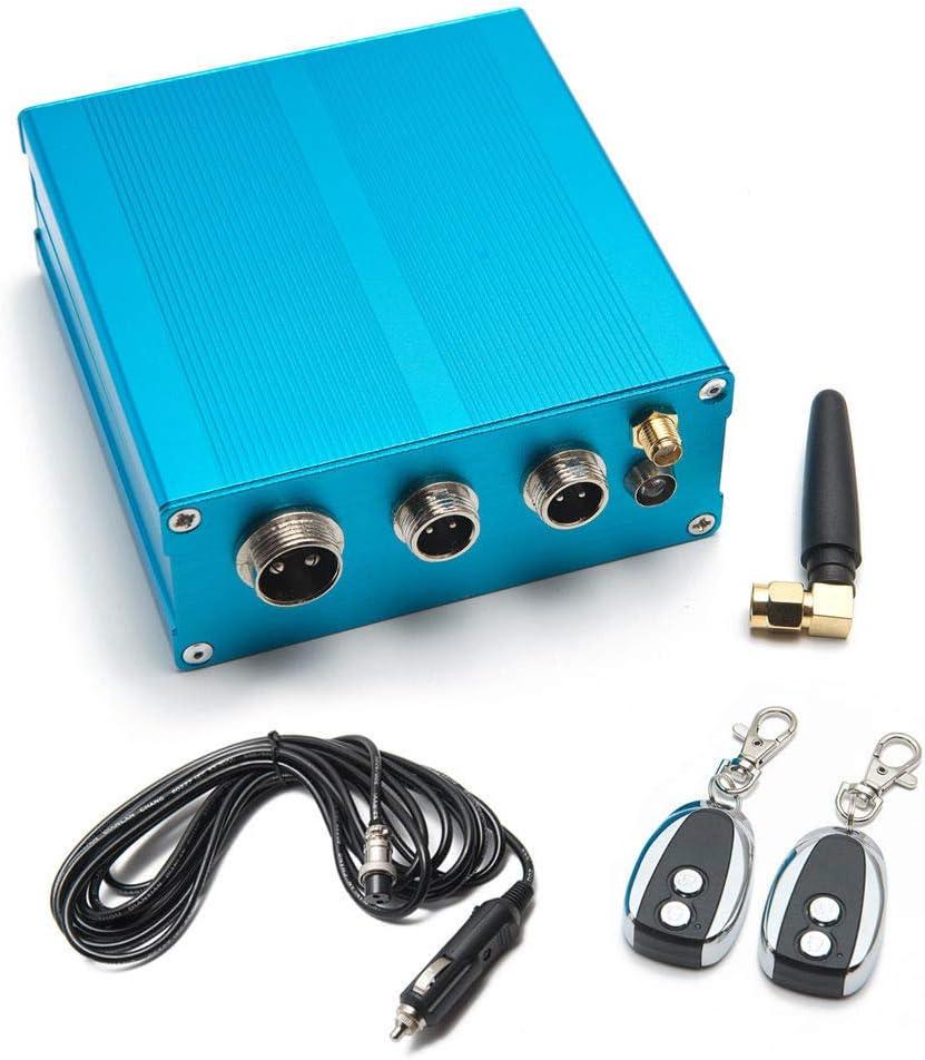 epman tk-cut001a-dz eléctrico Escape Cut Out Válvula Controlador + 2remoto Kit para escape CATBACK Tubería bajante