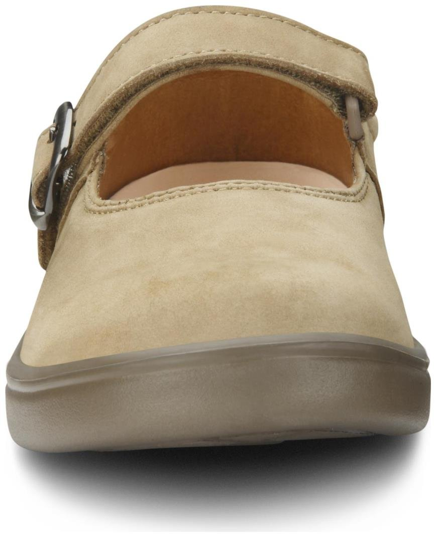 Dr. Comfort Merry Jane Women's Therapeutic Extra Depth Shoe: Beige 7 X-Wide (E-2E) Velcro by Dr. Comfort (Image #7)