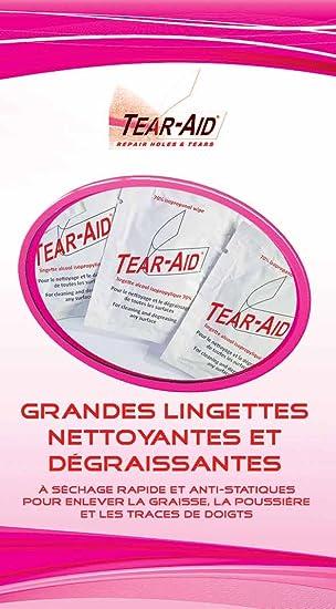 Tear-Aid Toallitas limpiadoras de alcohol isopropílico 70%: Amazon.es: Deportes y aire libre