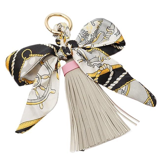 Amazon.com: qtmy cinta de seda lazo borla bolsa colgante ...