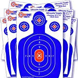 EasyShot Targets Silhouette Targets for Shooting, 10-Pack (12-Inch by 18-Inch)