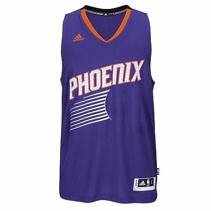 Amazon.com   adidas Phoenix Suns NBA Purple Swingman Jersey for Men ... e4324a28c