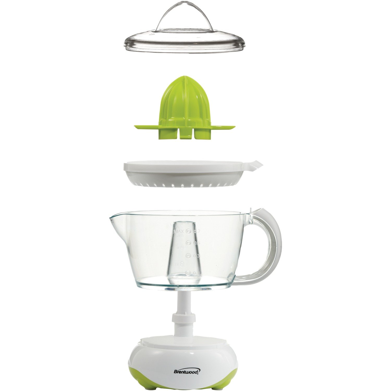 Brentwood  J-15  24oz  Electric  Citrus  Juicer,  White by Brentwood (Image #7)