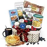 New England Breakfast Gift Basket Deluxe
