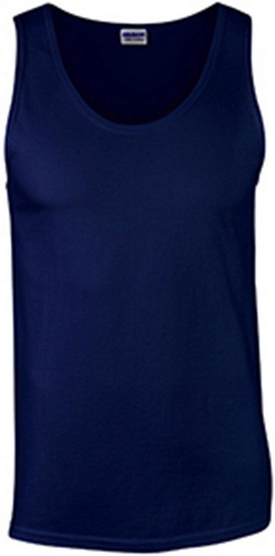 Gildan 6.1 oz Cotton Tank Top G220 at  Men's Clothing store