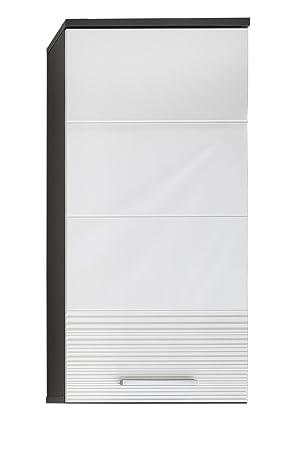 Trendteam Badezimmer Hängeschrank Wandschrank Smart 36 X 79 X 24 Cm