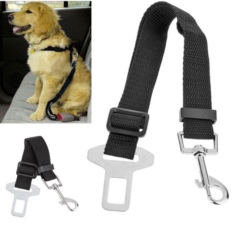 Jechery Cinturón de seguridad para mascotas, cinturón de seguridad ...