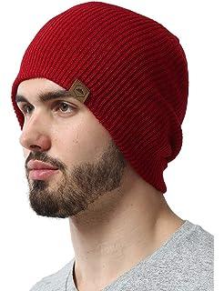 b1d31d2a597 iYBUIA Winter Unisex Knit Cap Hedging Head Hat Beanie Cap Warm ...