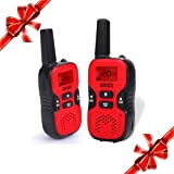 Amazon Price History for:UOKOO Kids Walkie Talkies, 22 Channel FRS/GMRS 2 Way Radio 2 miles (up to 3.7 Miles) UHF Handheld Walkie Talkies for Kids (1 Pair) Red