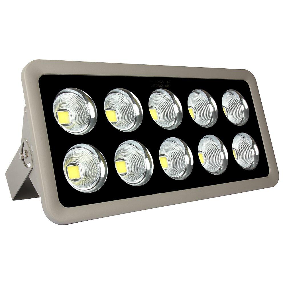 Morsen 500W COB LED Lighting Fixture 10 LED Chip Ultral Bright Outdoor Security Light For Landscape Garden Stage Court Lighting