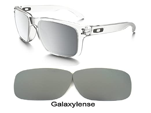 5097baefcc Galaxy Replacement Lenses For Oakley Holbrook Titanium Color Polarized