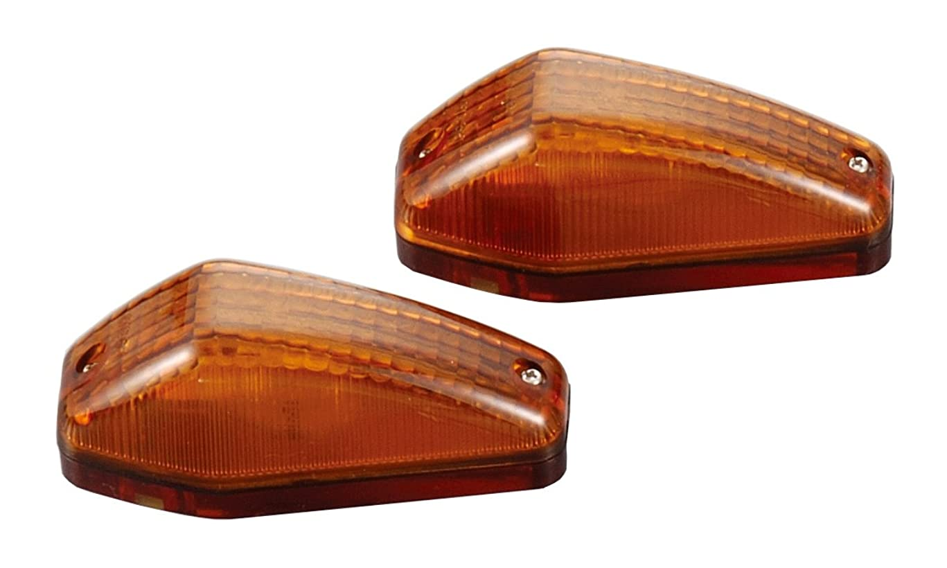 エチケット状推論PMC (ピーエムシー) バイク用ウィンカー Z1000R タイプウインカー オレンジ フロント用 (W球) 1個 81-4200