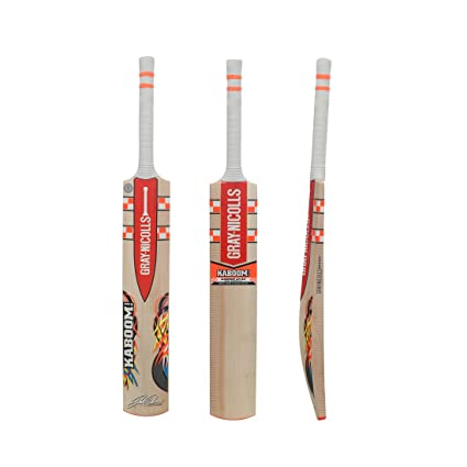 e150ee802be Image Unavailable. Image not available for. Colour: Gray Nicolls Kaboom  Warner GN2.5 English Willow Cricket Bat (Short Handle)