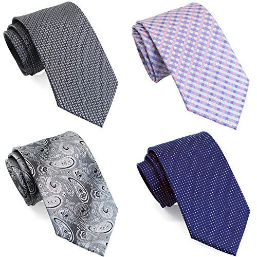 Long Tie - Extra Long Ties for Big & Tall Men, 63