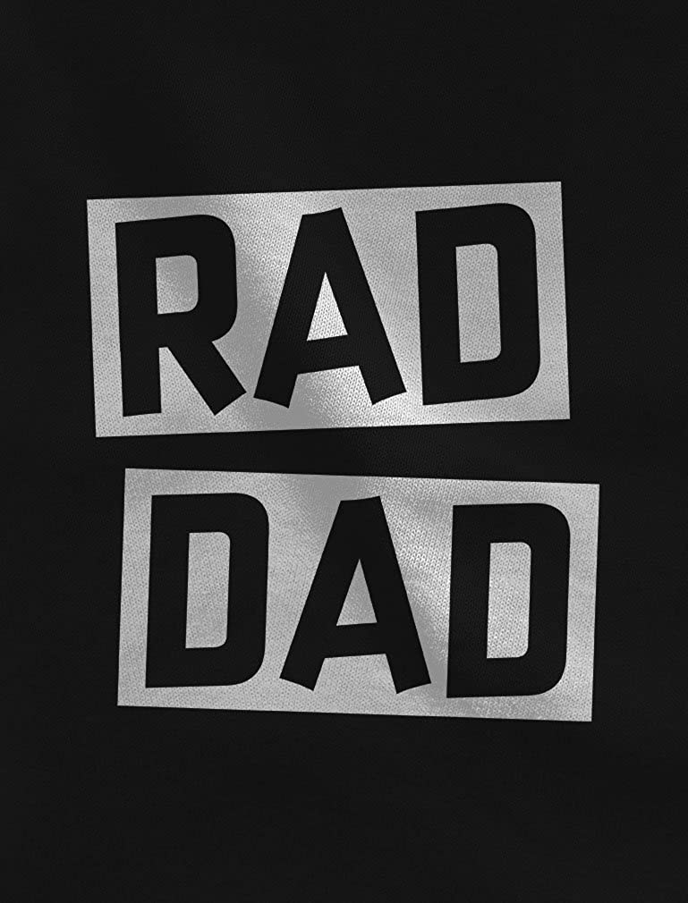 05abb64b0 Amazon.com: Rad Dad - Rad Like Dad Father Shirt & Son Bodysuit Funny Dad &  Me Matching Set: Clothing