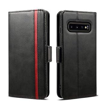 9117175c3b Galaxy S10 ケース 手帳型 ギャラクシーS10ケース - Rssviss サイドマグネット カード収納 Qi充電