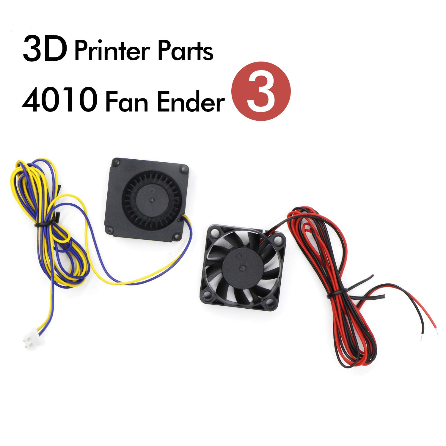 RioRand 4010 Blower 24V DC Brushless Cooling Fan 40x40x10MM and 4010 Axial Fan for 3D Printer Parts Ender 3/Ender 3 Pro