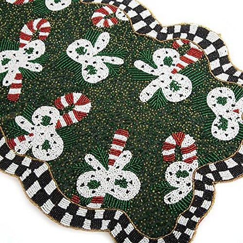 MacKenzie-Childs Candy Cane Beaded Table Runner72401-09172401-091