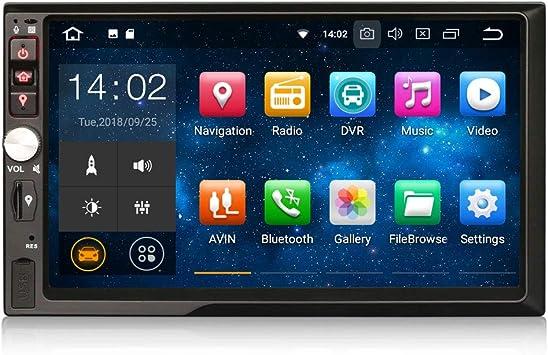 Erisin Android 9.0 2Din - Reproductor de radio para coche con ...