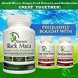 Naravis Gelatinized Black Maca Root - 1000mg