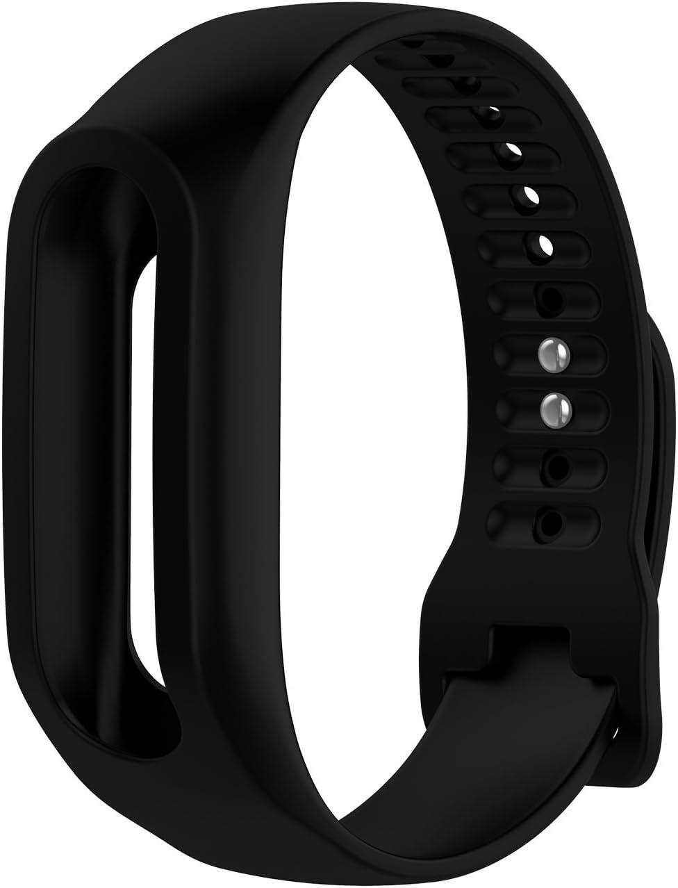 TomTom Touch Correa de reloj de silicona, correa de repuesto para TomTom Touch Cardio, rastreador de actividad deportiva, GPS Fitness Tracker