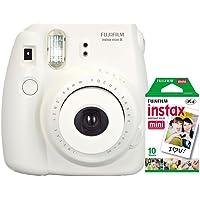 Câmera instantânea Fujifilm Instax Mini 8 - Branca + Filme INSTAX_KIT3B