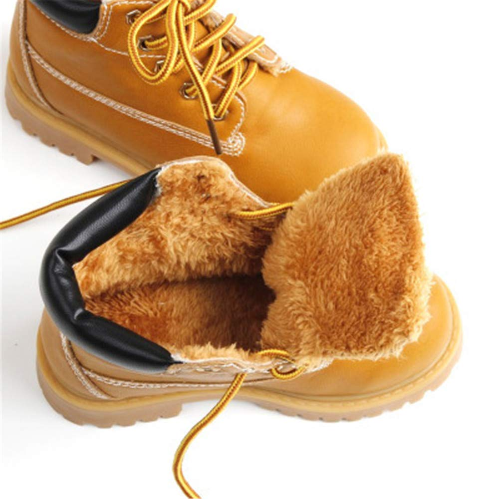 Toddler//Little Kid//Big Kid MODEOK Boy /& Girls Snow Boots Winter Outdoor Waterproof Snow Boots