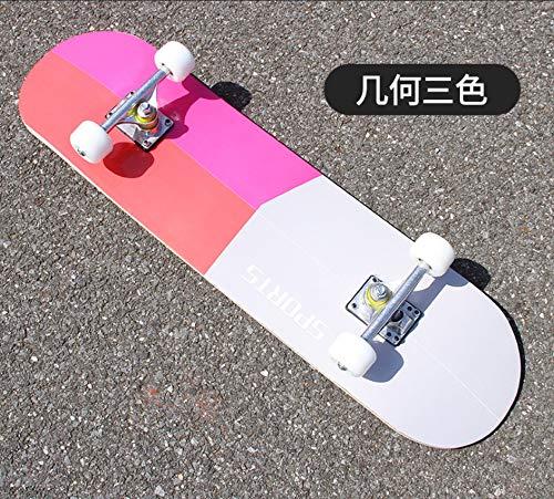 Gooderia B07QCPFV74 ダブルカーブ四輪スケートボード大人子供用ユニバーサルロードストリートプロフェッショナルバイタリティホイールスケートボード ブラック ブラック (Color : ブルー) B07QCPFV74 ブラック ブラック, 楽天チケット -Rakuten Ticket-:53cd2d1e --- krianta.ru