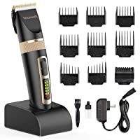 Deals on Nicewell Hair Clippers for Men Kids w/Charge Station and 9 Combs