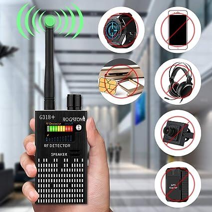 Super Anti-spy Bug GPS Wireless Camera RF Signal Detector Set[Enhanced  Version], ROGSTOM Higher-Sensitivity Tracker Locator Radar Radio Wave  Scanner