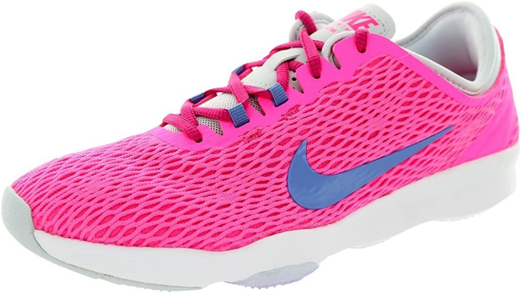 db4800ebf4b Amazon.com  NIKE Women s Zoom Fit Pink Pow Polar Frbrry Pr Pltnm Training  Shoe 8 Women US  Nike  Beauty