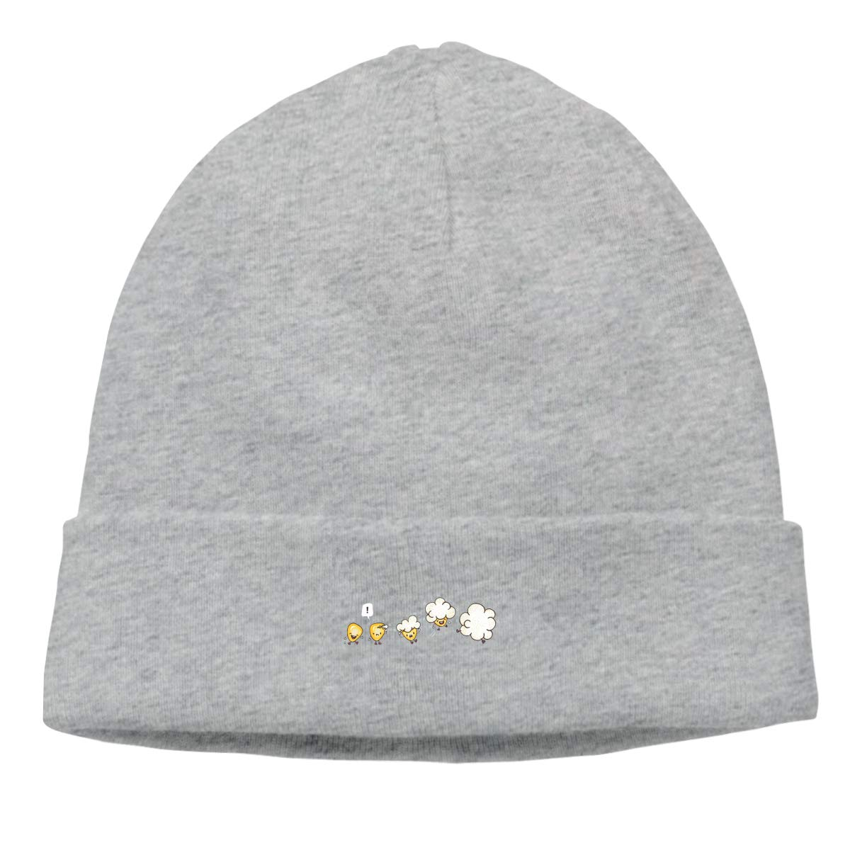 Nskngr How to Become Popcorns Men Winter Summer Deliciously Soft Daily Winter Beanie